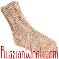 Носки из верблюжьей шерсти и мохера, ручная работа