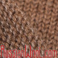 Свитер из верблюжьей шерсти и козьего пуха натурального цвета, 4XL на рост выше среднего