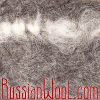 Чуни вязаные шерстяные серые