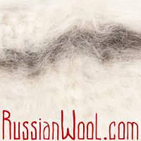 Чуни вязаные шерстяные белые