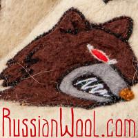 Чуни войлочные Медведь