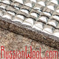 Стельки войлочные двухслойные фольгированные (термостельки)