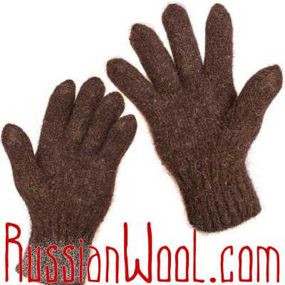 Перчатки Бистр греющие из грубой шерсти