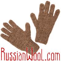 Перчатки из 100% верблюжьей шерсти, натуральные