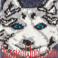Варежки Охотник мужские синие