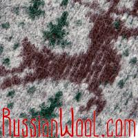 Варежки Алтай мужские с оленем