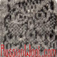 Варежки Филин мужские шерстяные серые