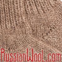 Носки из 100% верблюжьей шерсти бежевого цвета