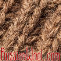 Шапка из 100% верблюжьей шерсти, коричневая
