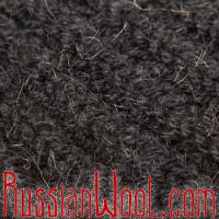 Свитер из 100% верблюжьей шерсти черный крупной вязки