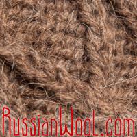 Варежки из верблюжьей шерсти и козьего пуха натурального цвета