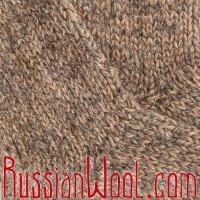 Носки высокие мужские вязаные 100% шерсть: верблюжья, овечья и козий пух
