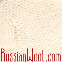Носки Пастушьи Веселые шерстяные вязаные кораллово-полосатые