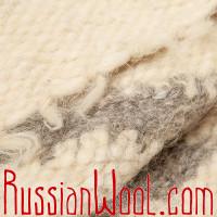 Жилет Суконный из натуральной шерсти удлиненный Зигзаг Дым