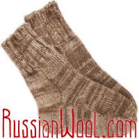 Носки на заказ из натуральной шерсти