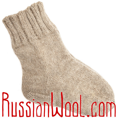 Носки любых размеров на заказ, из натуральной шерсти
