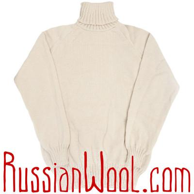 Свитер Городской-Лайт белый, разные размеры