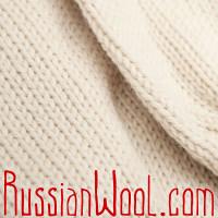 Свитер Городской-Лайт гладковязаный белый, разные размеры