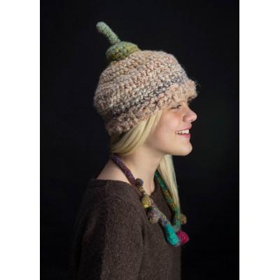 Дизайнерская шапка-жёлудь