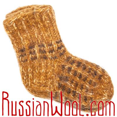 Детские носки Горчица с Перцем