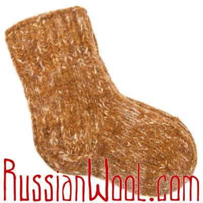 Детские носки Горчица