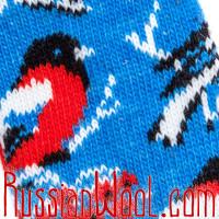 Гольфы Снегири голубые