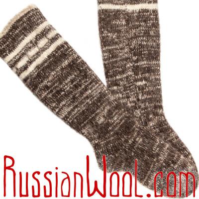 Носки Рыбацкие шерстяные высокие (гольфы)
