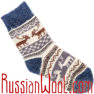 Детские носки Эскимосские шерстяные