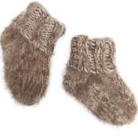 Носки Пушистики малышковые, овечья шерсть с козьим пухом