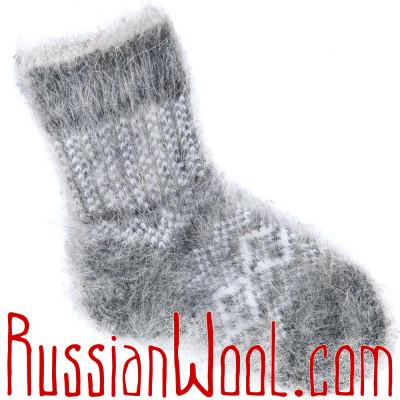 Детские носки Скандинавия козьи пуховые