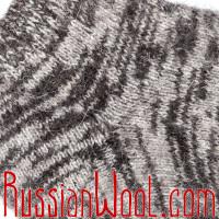 Короткие шерстяные носки мужские серые