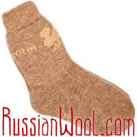 Комплект: три пары верблюжьих носков