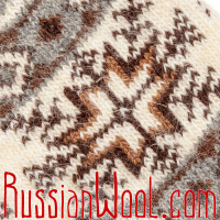 Носки Северная Звезда шерстяные белые