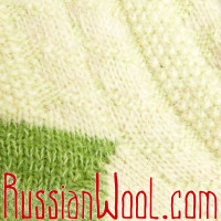 Носки Весенние Яблоко женские полушерстяные