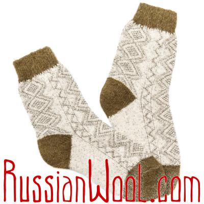 Носки Весенние Трава женские полушерстяные