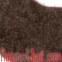 Носки мужские шерстяные однотонные коричневые