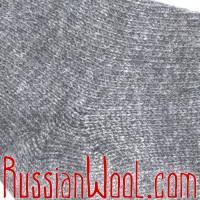 Носки мужские шерстяные однотонные серые