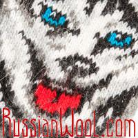 Носки Хаски шерстяные серые мужские/женские
