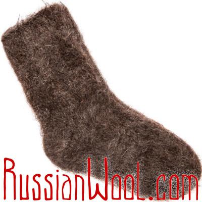 Носки Горные козьи пухово-шерстяные натуральные