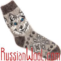 Комплект Лайки BW Пух: мужские пуховые носки