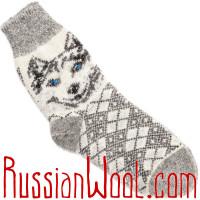 Комплект Лайки Пух: мужские пуховые носки