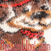 Носки Веселая Собачка женские пуховые