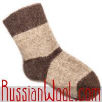 Толстые шерстяные носки для охоты и рыбалки