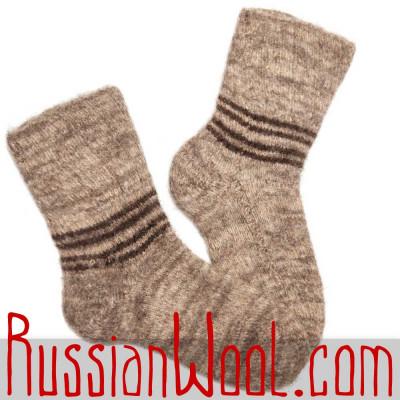 Женские зимние шерстяные носки
