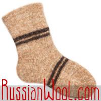 Теплые вязаные мужские носки