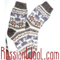 Носки Эскимосские козьи пуховые
