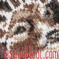 Носки Олени шерстяные мужские черные
