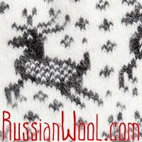 Комплект Нашествие оленей М+Ж: шерстяные носки для мужчины и женщины
