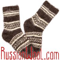 Шерстяные носки для отдыха