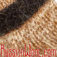Носки Дачные Осень из натуральной шерсти